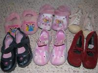Girls lot of shoes - Toddler Size 9