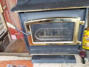 free standing propane fireplace stove