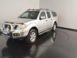 2011 Nissan Navara D40 S6 MY12 ST-X 550 Silver 7 Speed Sports Automatic Utility Welshpool Canning Area Preview