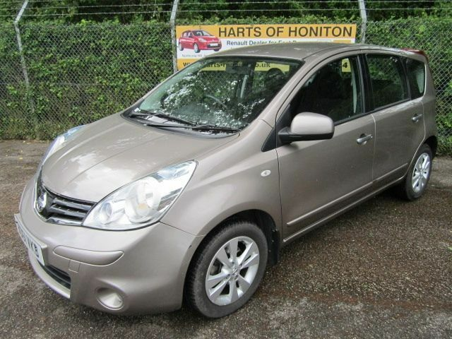 Nissan Note 1.5 Acenta DCi Turbo Diesel 5DR (cafe latte) 2011