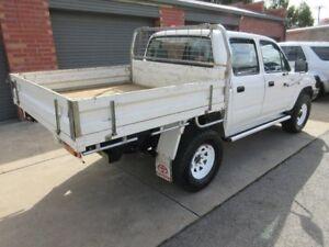 2002 Toyota Hilux KZN165R (4x4) White 5 Speed Manual Dual C/Chas