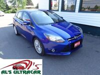 2013 Ford Focus Titanium Hatchback only $134 bi-weekly all in!