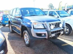 2003 Toyota Landcruiser Prado KZJ120R GXL Blue 5 Speed Manual Wagon Minchinbury Blacktown Area Preview