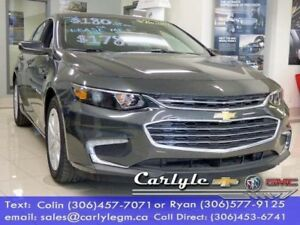 2018 Chevrolet Malibu Premium Cloth, Turbo 6Spd.