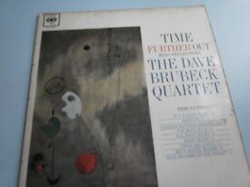 Dave Brubeck Quartet.....Time Further Out ( VYNIL)