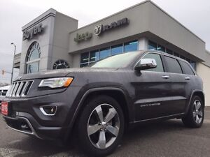 2016 Jeep Grand Cherokee Overland | Heated Seats | Navi | Rear C