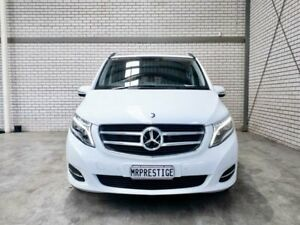 2016 Mercedes-Benz V-Class 447 V250 d 7G-Tronic + Avantgarde White 7 Speed Sports Automatic Wagon Acacia Ridge Brisbane South West Preview