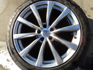 1 Bridgestone Winter tire with alloy for Infinity G37
