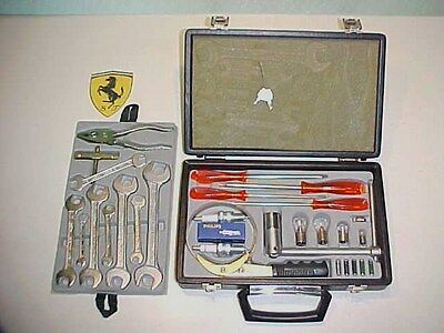 Ferrari 365 Tool Kit_Briefcase_Oil Filter Wrench _Pliers_Screwdrivers GTC4 OEM