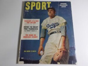 ►►►► VINTAGE AND RARE 1954 SPORT MAGAZINE ◄◄◄◄