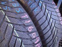 235/45/18 Dunlop SP WSport M3, XL M+S Winter x2 A Pair, 5.8mm (456 Barking Rd, Plaistow, E13 8HJ)