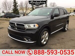 2015 Dodge Durango AWD LIMITED Navigation (GPS),  Rear DVD,  Lea