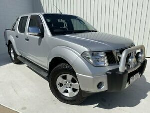 2010 Nissan Navara D40 ST-X Silver 6 Speed Manual Utility Mundingburra Townsville City Preview