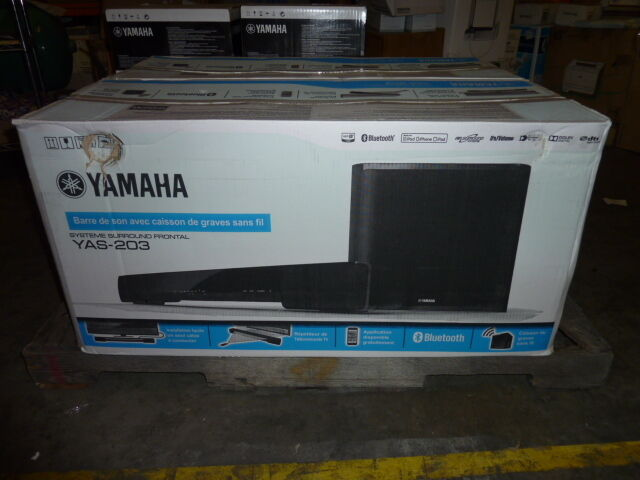 Yamaha YAS-203 Sound Bar with Bluetooth and Wireless Subwoof