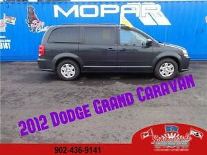 2012 Dodge Grand Caravan SXT Stow N' Go Seats