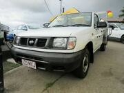 1998 Nissan Navara D22 DX White 5 Speed Manual Cab Chassis Yeerongpilly Brisbane South West Preview