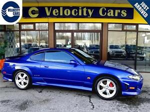 1999 Nissan Silvia S15 Spec-R 123K's Turbo 247hp Coupe 6-speed M