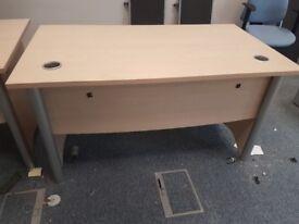 Executive maple office desks