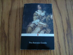 The Restoration Comedies ISBN- 97800140430271 London Ontario image 1