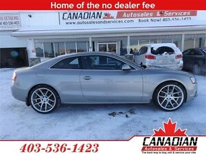 2010 Audi A5 2.0L S Line Summer and winter tires on rims