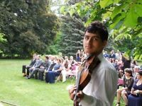 Wedding violinist 70$ / hour for weddings gatherings and proposa