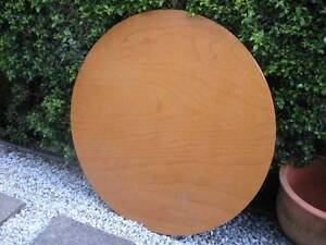 Round Wooden Table Top $10 Albion Brisbane North East Preview