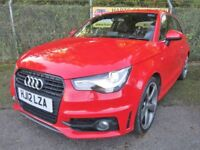 Audi A1 2.0 S-Line Black Edition TDi Turbo Diesel 3DR (misano red) 2012