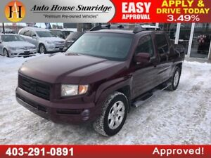 2008 HONDA RIDGELINE EX-L 4X4 LEATHER INTERIOR