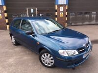 NISSAN ALMERA 1.5E 3DR, 12 Months Mot, just been serviced and ready to go, superb value