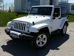 2015 Jeep Wrangler Sahara 4x4 6-SPD MANUAL!
