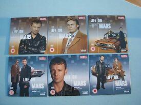 Life on Mars BBC Series 1 & 2 part one two 6 News of World Promo DVD Discs John Simm