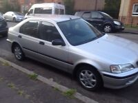 Silver HONDA CIVIC 1.5L- taxed/otted, perfect running order. £450 ONO