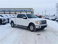 2013 Ford F-150 Lariat 4x4 SuperCrew Cab 5.5 ft. box 145 in. WB