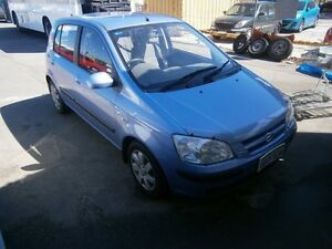 2005 Hyundai Getz GL 5 DOOR #3695 Blue Automatic Hatchback Maddington Gosnells Area Preview