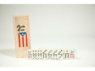 Puerto Rico Flag Double Six Mini Dominos Dominoes Boricua Rican    Free Shipping