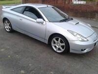 Celica 1.8 vvti 140 sports/premium pack, 120k, mot, new clutch, would take cheap small part ex car