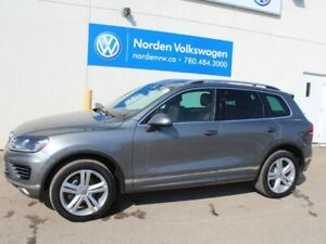 2016 Volkswagen Touareg EXECLINE R-LINE 4MOTION AWD - LEATHER /
