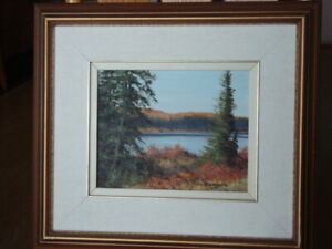OIL PAINTING by C. M. BOWMAN