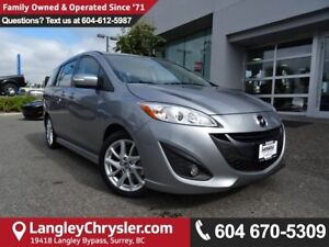 2017 Mazda Mazda5 GT *ACCIDENT FREE*ONE OWNER*LOCAL BC CAR*