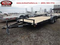 18' QUALITY STEEL CAR HAULER - 3.5 TON, BUILT TO LAST! London Ontario Preview