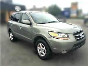 2009 Hyundai Santa FE GLS, AWD, ONLY 133k, leather, sunroof