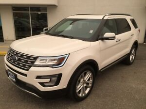 2017 Ford Explorer Limited with Heated/Cooled Front Seats and Am