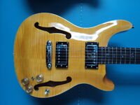 GUITARE PRS HOLLOW BODY  CHINOISE