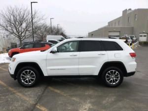 2014 Grand Cherokee Limited 4x4  just 91k ($189 bi weekly! oac)