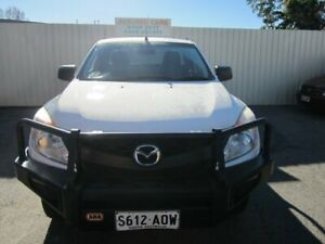 2011 Mazda BT-50 XT (4x4) Cool White 6 Speed Manual Freestyle Cab Chassis Windsor Gardens Port Adelaide Area Preview