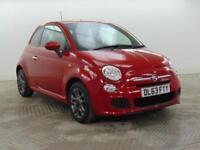 2013 Fiat 500 S Petrol red Manual