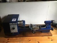 Mini Lathe Record Power ML-360 (Manix ML-360) & Accessories