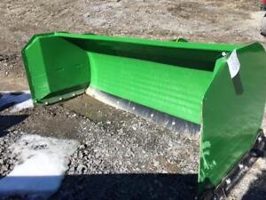 HLA 3500 snow pusher - 8' with steel edge