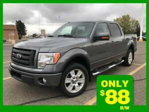 2010 F-150 Supercrew FX4   **LEATHER-SUNROOF**