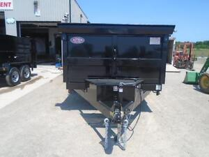 ULTIMATE DUMP TRAILER - 6 TON QUALITY 7 X 12' BED W/COMBO GATE London Ontario image 4